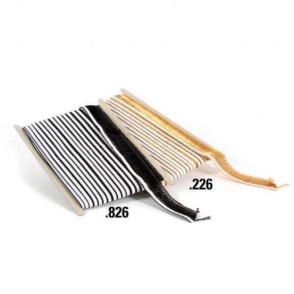 Haarfransen 40 mm x 25 selbstk lebend