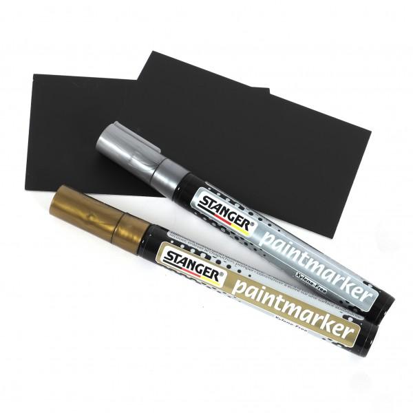 Paintmarker 2-4 mm wasserfest schnelltrocknend