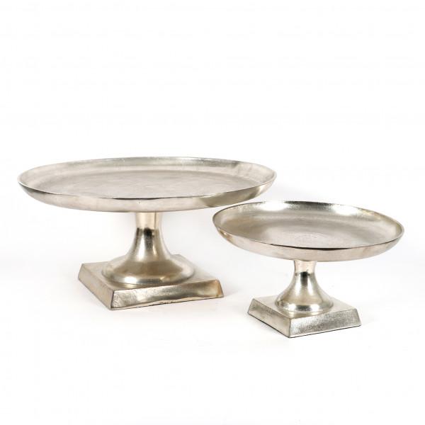 Aluminium Teller auf Fuß