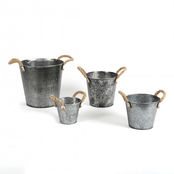 Zinktopf Elis Metall, zink antik