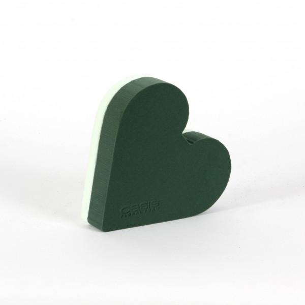 Oasis Herz Polly Hartschaum- unterlage 20x21x6 cm