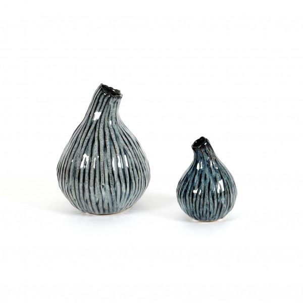 Keramik Vase bauchig mit Schwung