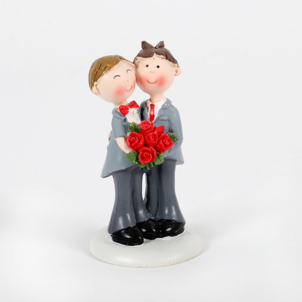 Hochzeitspaar Männer 9cm