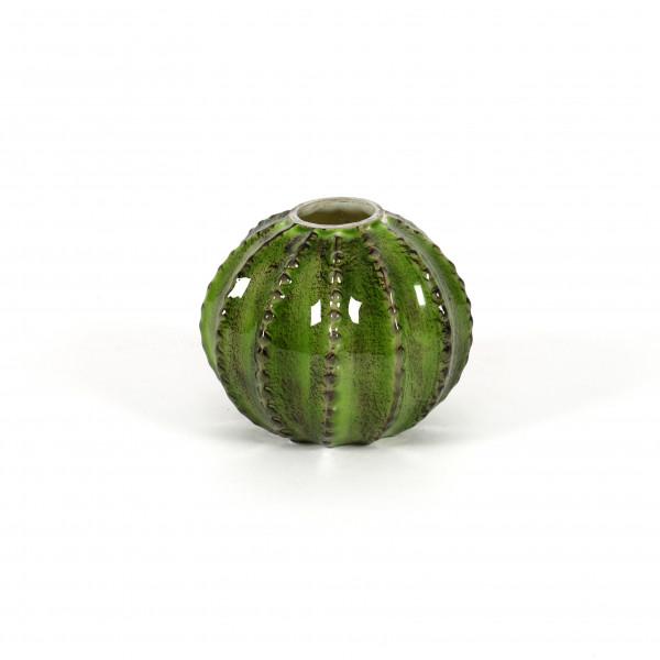 Kugelvase Kaktus Glas, grün 10 cm