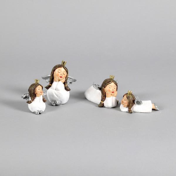 Poly-Engel Magdalena liegend&sitzend sortiert