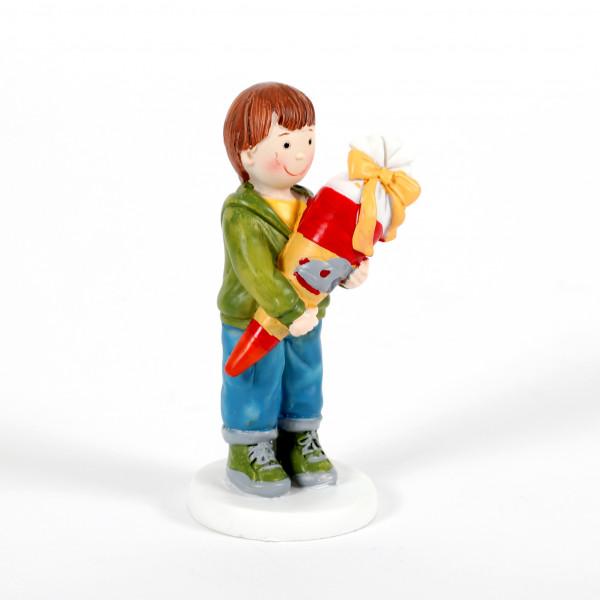 Junge mit Schultüte 8,5cm