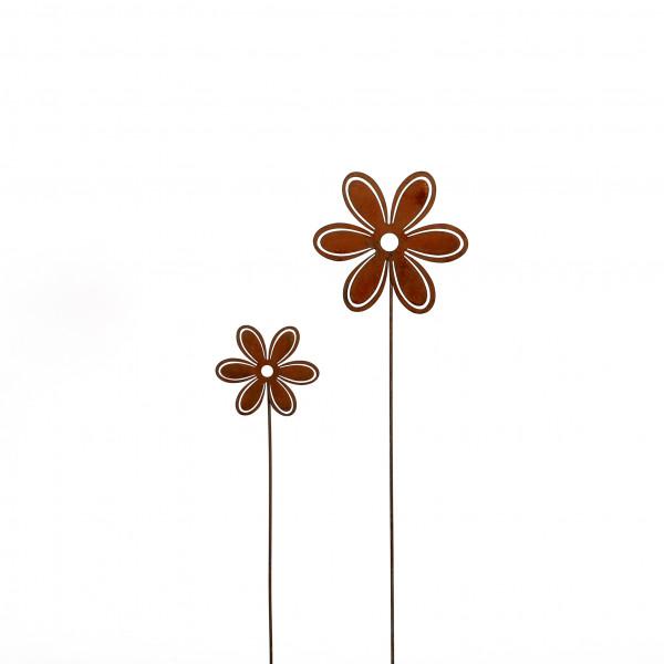 Stecker Blume Metall, rost