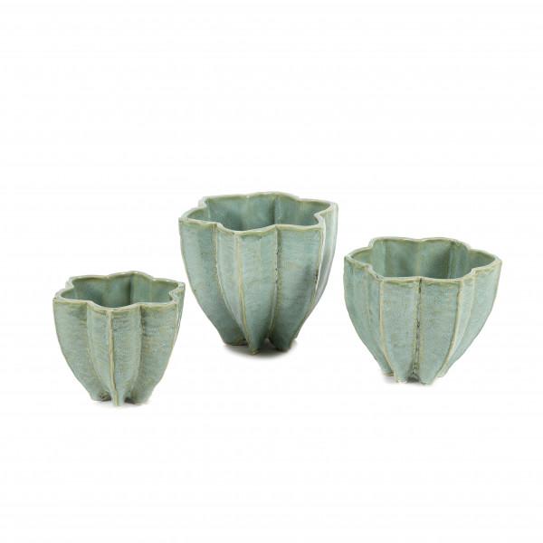 Keramik Topf Star-Fruit