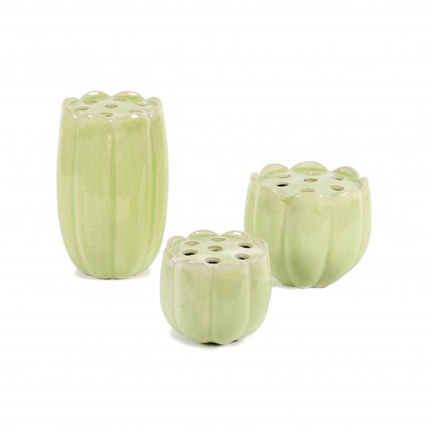 Keramik Lotus-Vase Marie