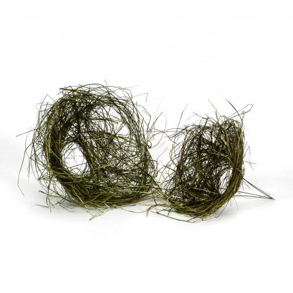 Bindehilfe struppig aus Gras 15cm