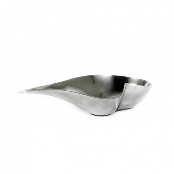 Schale Lucente Alu poliert, 38 x19x9 cm