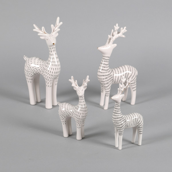 Keramik Hirsch Larus 2 Mod sort