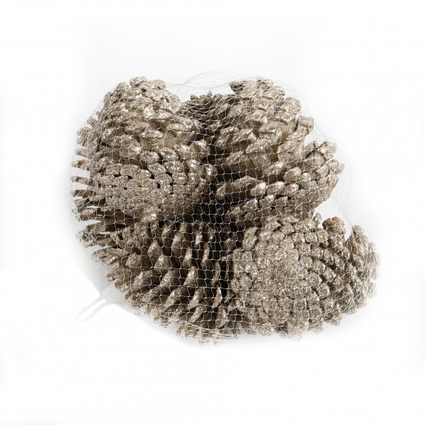 Maritimazapfen 10-13 cm champanger Netz x 10 Stück