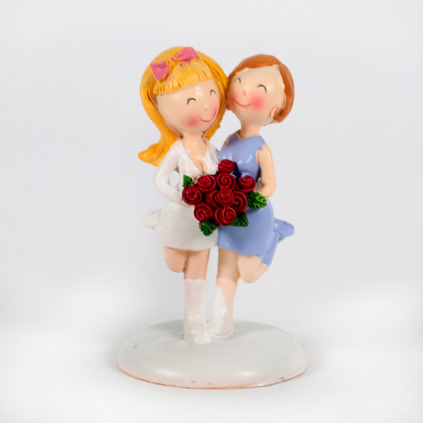 Hochzeitspaar Frauen 9cm