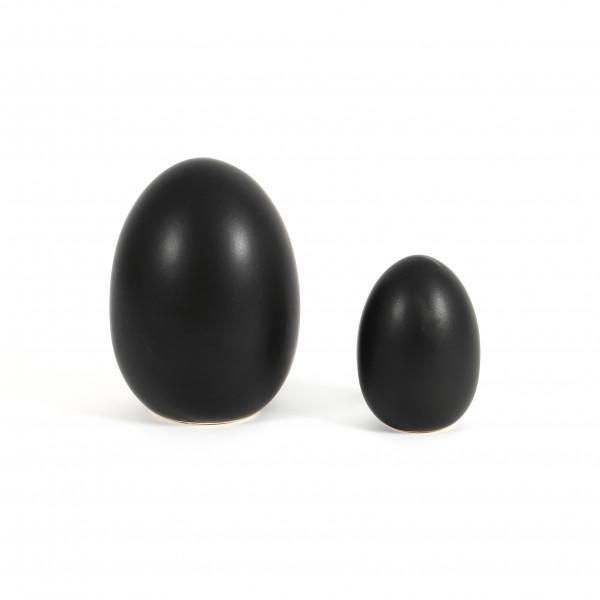 Keramik-Deko Ei stehend
