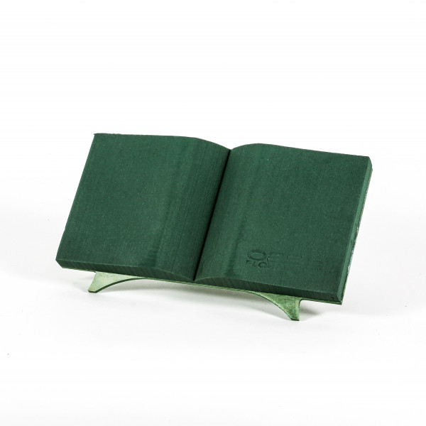 OASIS Floral Foam Bioline Buch offen Mini m. Aufstellvorrichtung 40x20x4,5cm