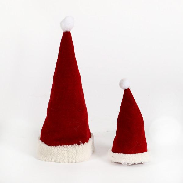 Santa-Mütze, Filz