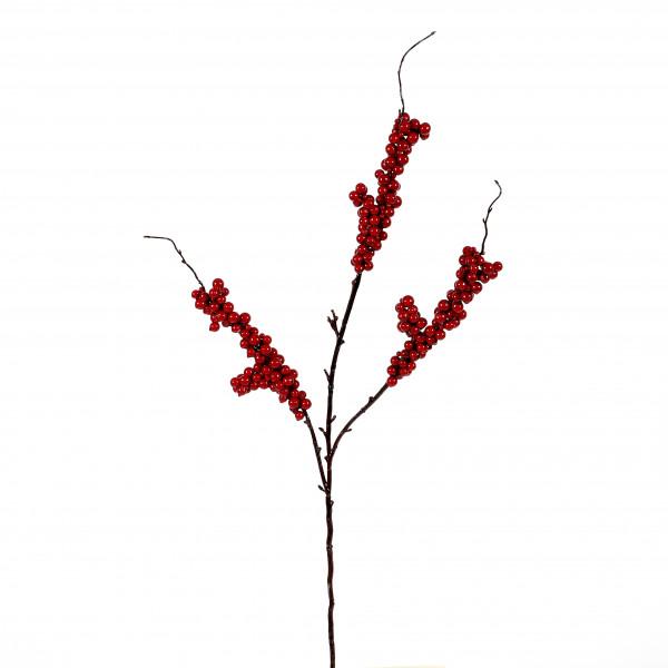 Beerenzweig, 86 cm, rot