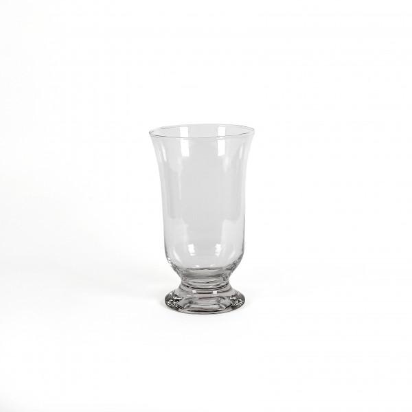 Glas Windlicht Classic H 34 D 21 cm Hot Cut dickes Glas