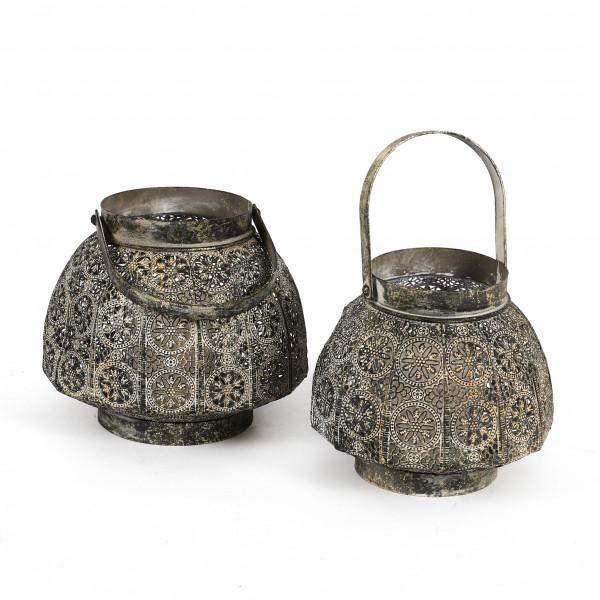 Laterne Agadir Metall