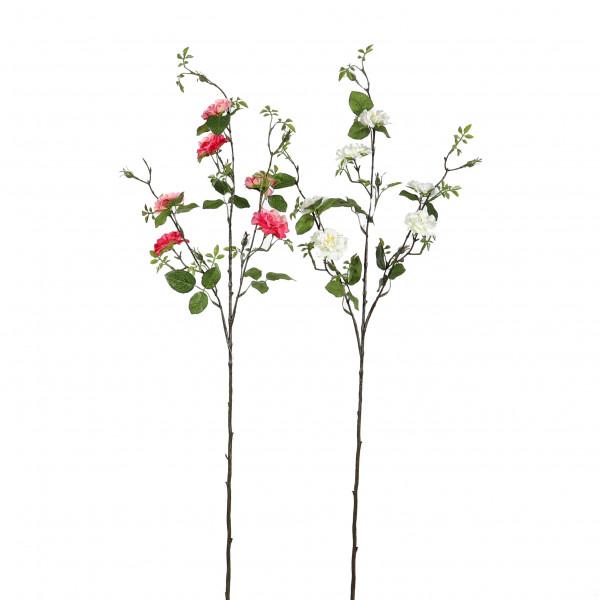 Wildrosen-Zweig x 3, 94 cm