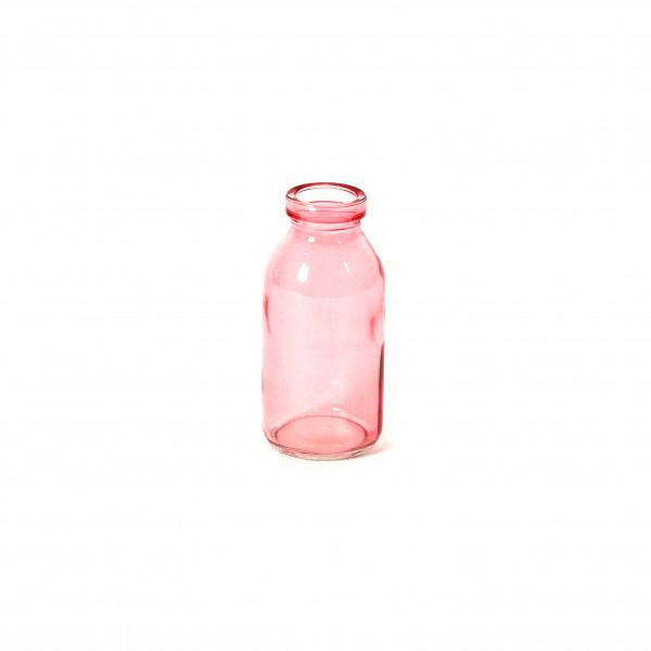 Glasflaschen 2 farbig sortiert rosa altr osa H 10 cm D 5 cm
