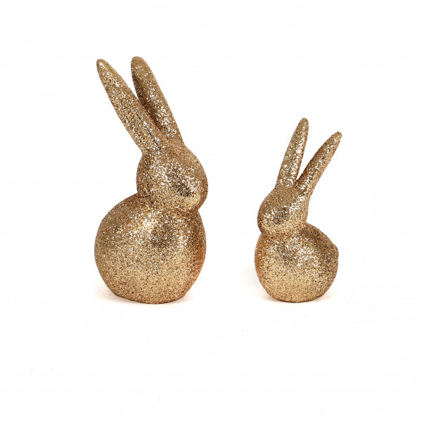 Hase Glamour Poly, champagner-glitter