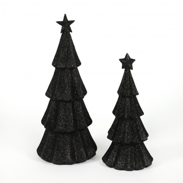 Baum Glitter Kunststoff
