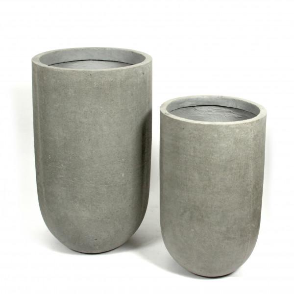 Creastone Vase rund