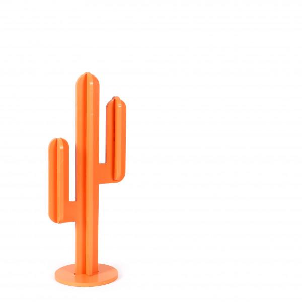Standdeko Kaktus MDF, lachs 19x15x48 cm
