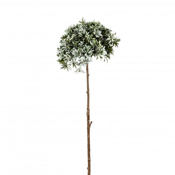 Teeblatt-Zweig, 93 cm, grün-betaut
