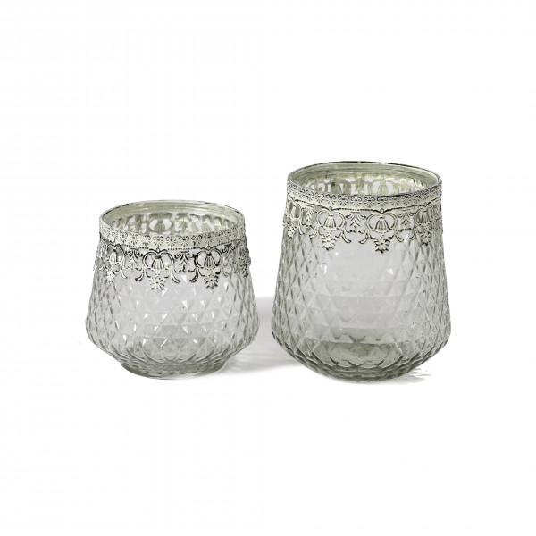 Teelichtglas Phoebe D16
