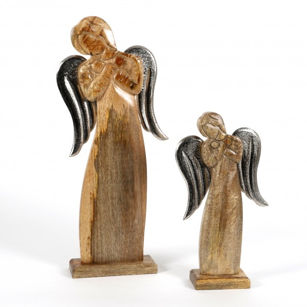 Engel Lucile Holz Metall