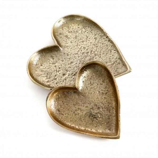 Herz flach zum hängen Arundo Metall