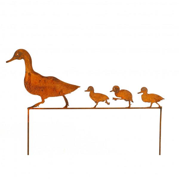 Entenfamilie Dagobert zum stecken B 68 cm