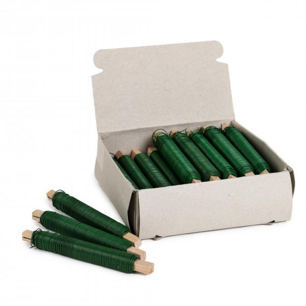 Wickeldraht grünlackiert 0,65 mm x38m Karton 10kg