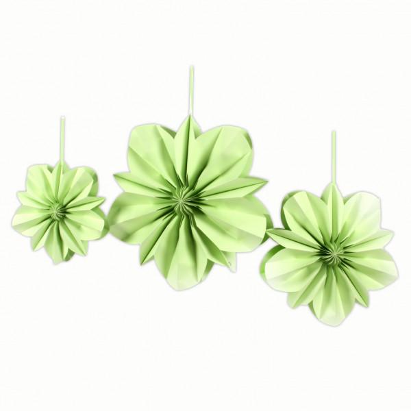 Blume, Dekohänger,Papier,faltb ar