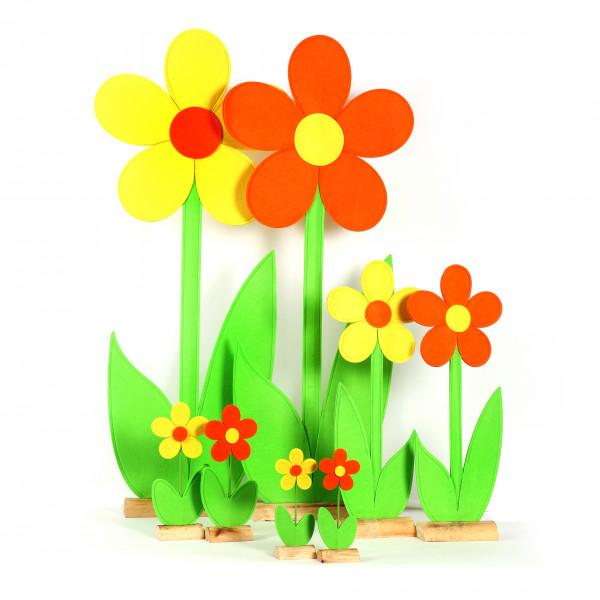 Blume Margerita Filz