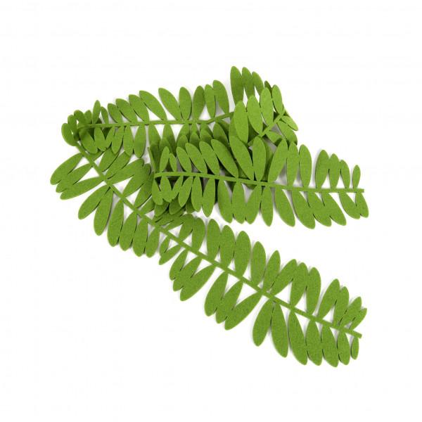 Deko Filzband 15x 165 cm grass grün
