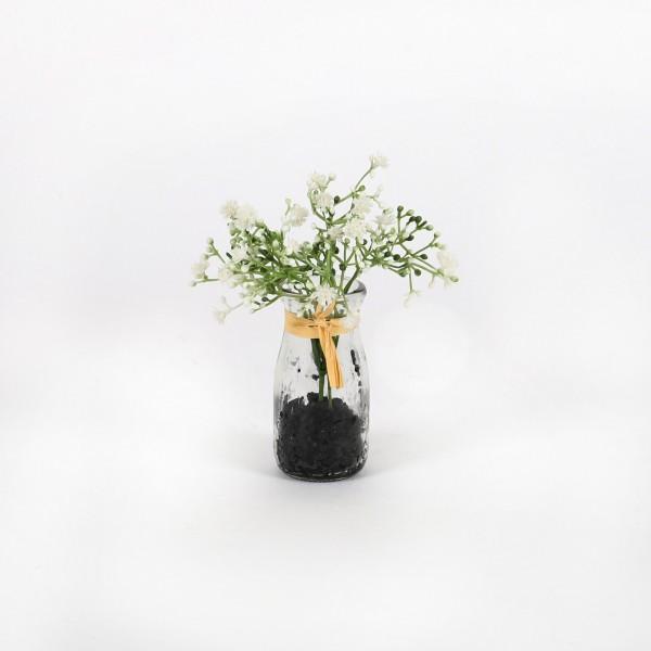 Gypso, 16 cm, getopft, weiß