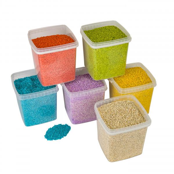 Granulat Deko Kies 2-3mm im 5 Liter Eime r