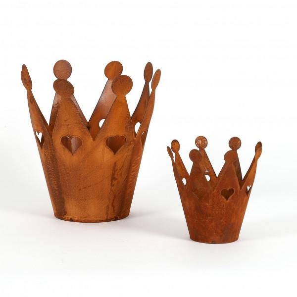 Krone mit Herzchen D
