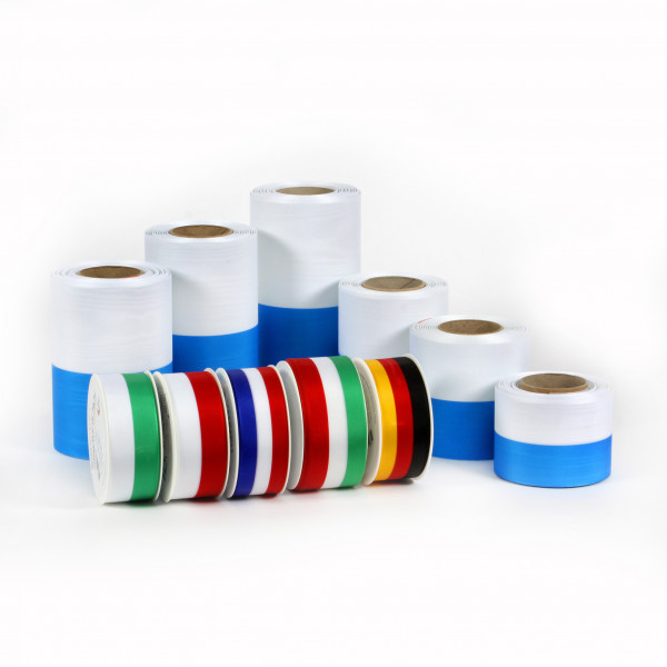 Nationalband Moire 200mm 25 m Rolle