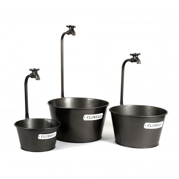 Zinkschale Wasserhahn Metall