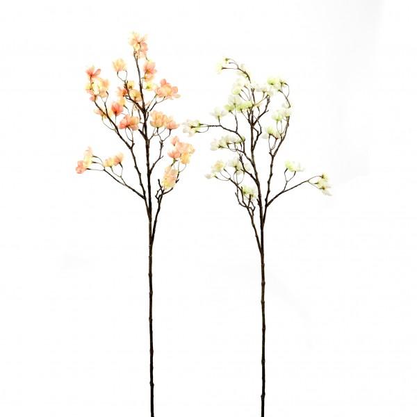 Apfelzweig, 102 cm, blühend