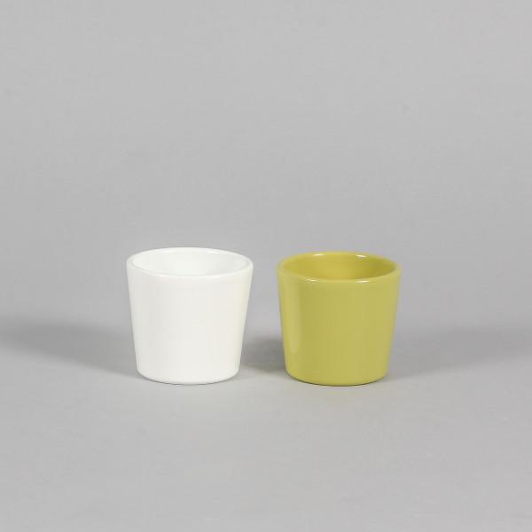 Keramik-Mini-Kübel, 7 cm