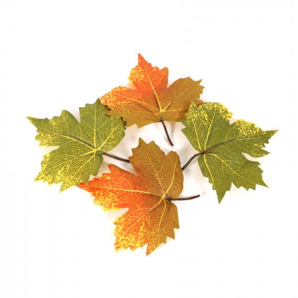 Blätter, herbstlich, 10x13 cm, Btl/20 St. sortiert