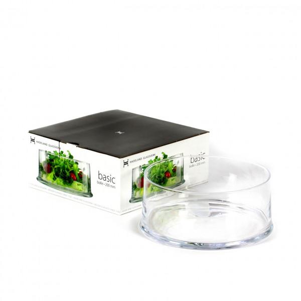 Ringschale D 22 cm H 9 cm klar glas