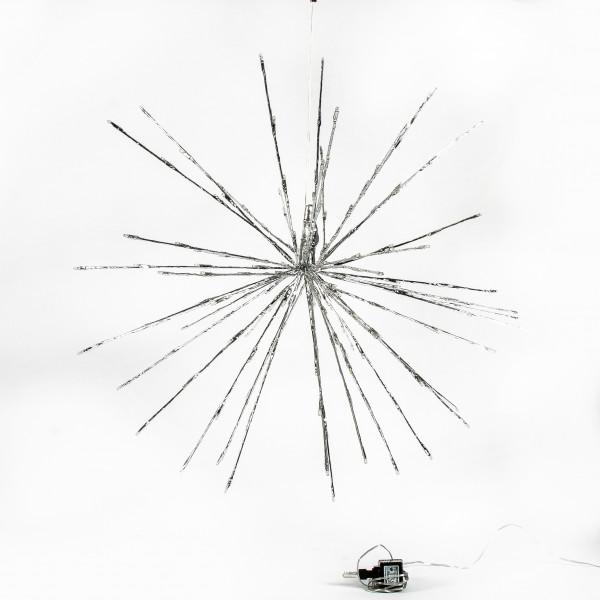 Sputnik Stern m. LED 50 cm/120 LED - twinkle indoor