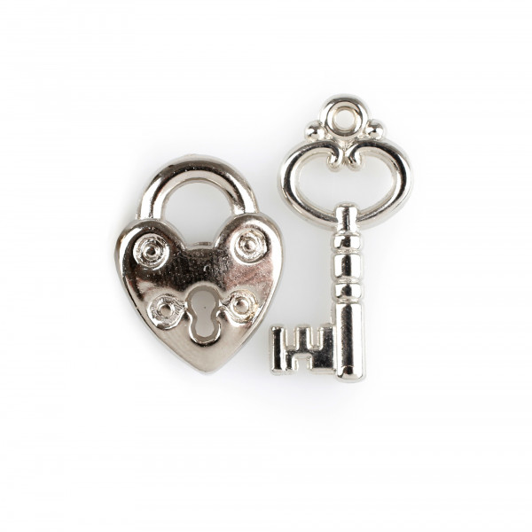 Schlüssel/Schlösser Forever ca170Stk/Box, silber